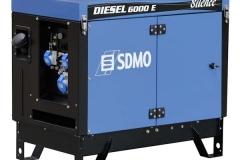 el_13 Стационарный дизельный генератор SDMO