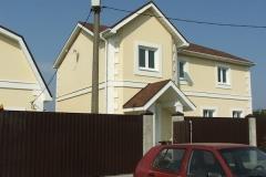 Дом из бруса.