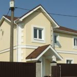 Отделка деревянного дома под покраску