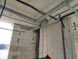 монтаж систем канализации, монтаж систем отопления канализации
