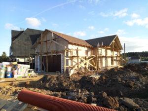 Строительство дома под москвой