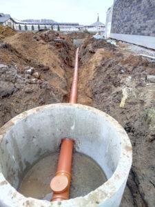 Монтаж наружной канализации, монтаж систем канализации, монтаж систем отопления канализации
