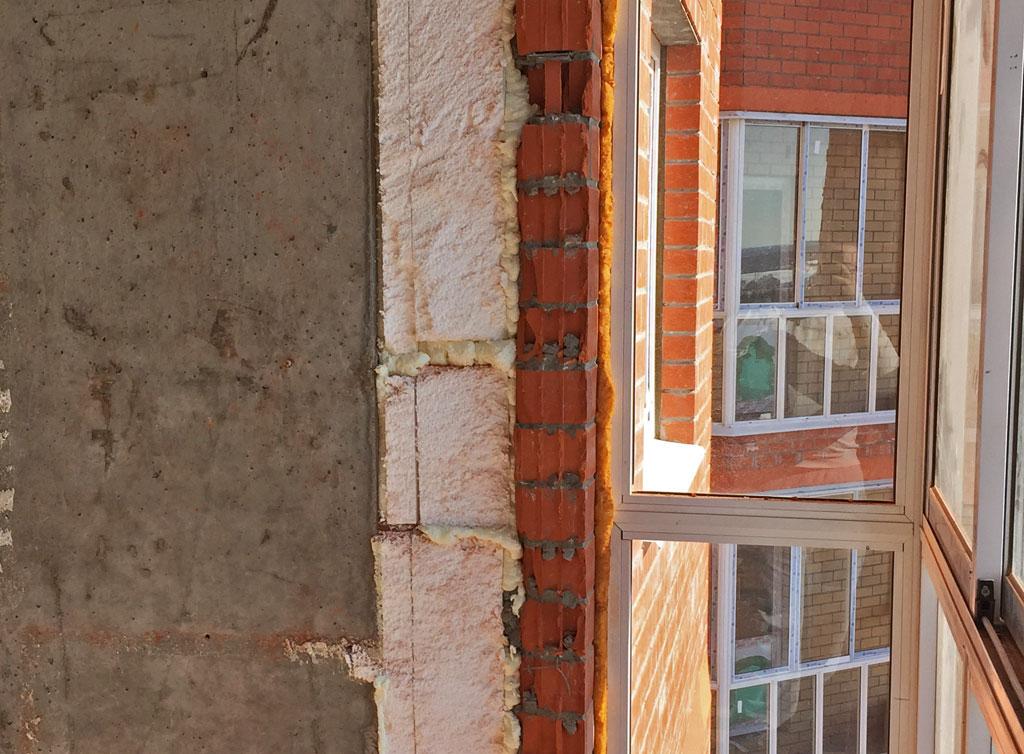 Утеплители. Утепление балкона или лоджии.