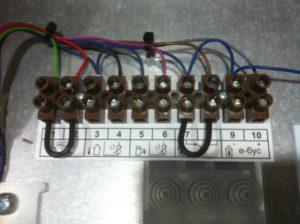 Подключение датчика наружной температуры к котлу Proherm klom 17.
