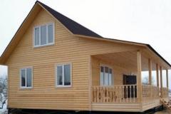 Щитовой дачный дом