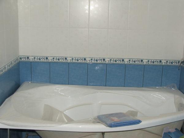 Укладка плитки ванная комната