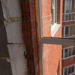 утепление стены балкона