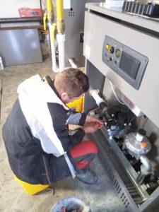 Настройка газовой автоматики первый пуск котла