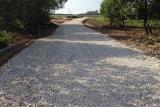 Дорожное строительство. отсыпка щебнем