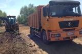 Дорожное строительство. Подготовка дорожного корыта